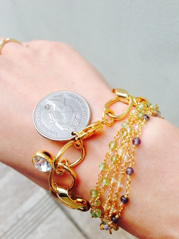 Trend—layering your bracelets