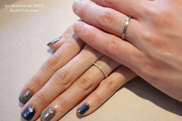 ~otemoto~les desseins de DIEU Bridal Collection I様 &Y様 ご結婚指輪