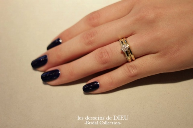 ldddieu-wedding band-customer---with engagement ring