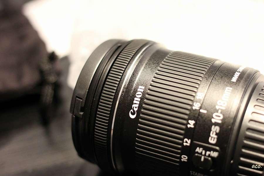 canon EF-S10-18mm 広角レンズ