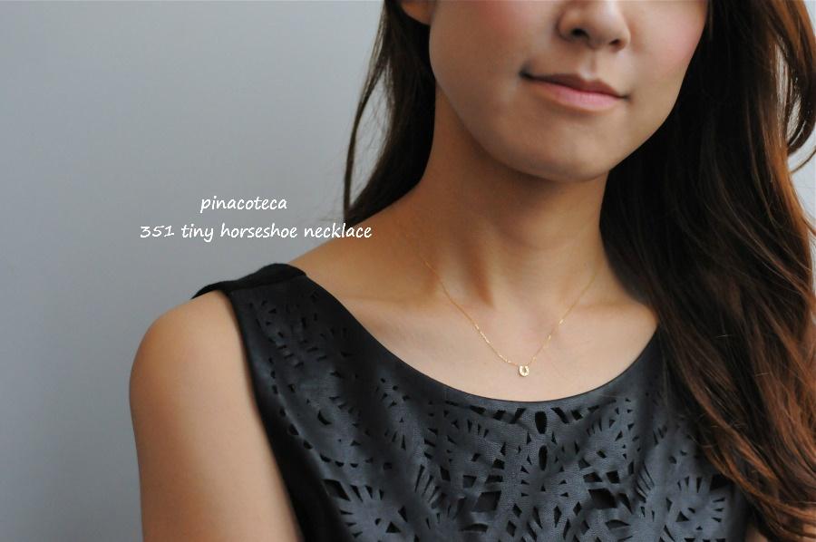 馬蹄ネックレス K18 シンプルバテイ華奢ネックレス 18金