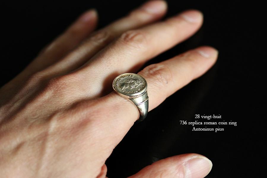 ローマコイン リング 28vingt-huit