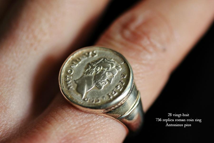 アントニヌス ピウス ローマコイン リング シルバー925 ヴァンユイット