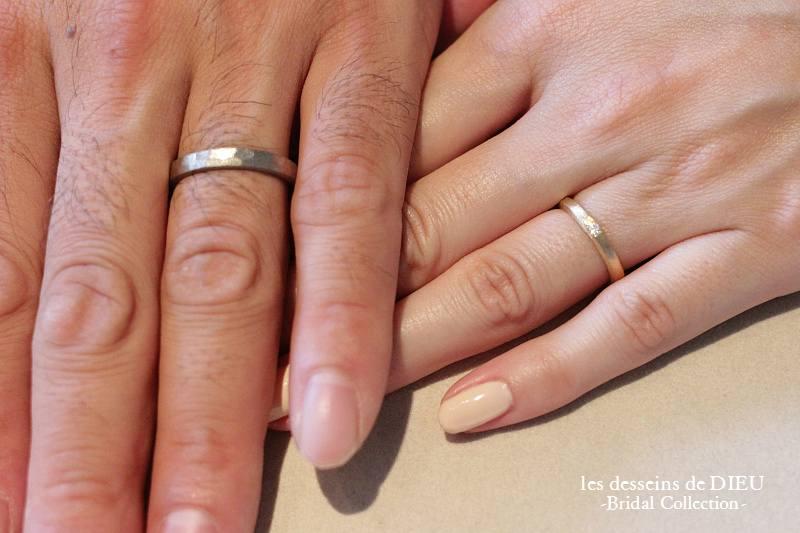 ~otemoto~les desseins de DIEU Bridal Collection T様 ご結婚指輪