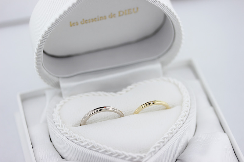 les desseins de DIEU Marriage Ring