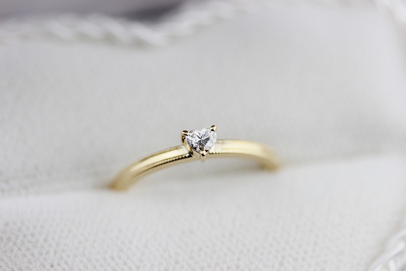 Y&A様 engagement ring (1)