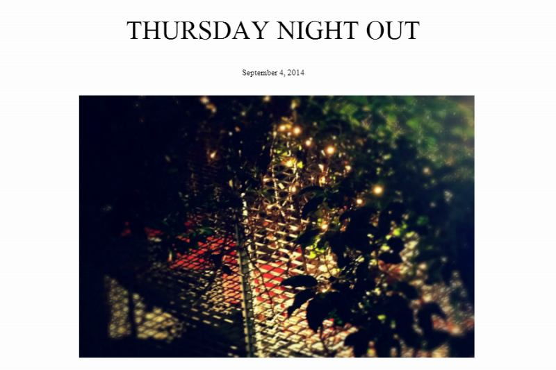 Thursday Night Out        ~ PARTY STYLEはロングでキメる☆~  -two ply-