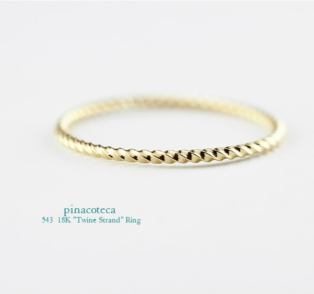 twine strand ring-