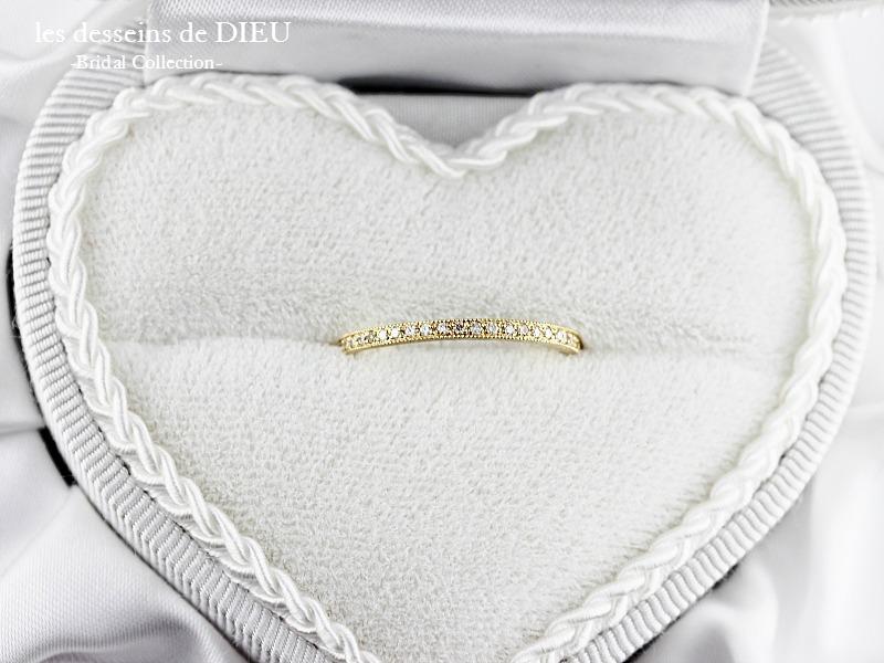 les desseins de DIEU Bridal Jewelry ~K様&I様カップルのエンゲージリング~
