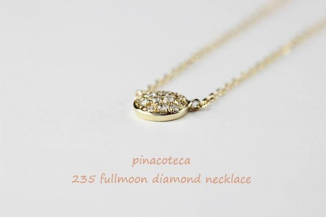 pinacoteca235 fullmoon diamond necklace