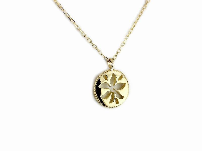 ld635nc Nature Sun Necklace