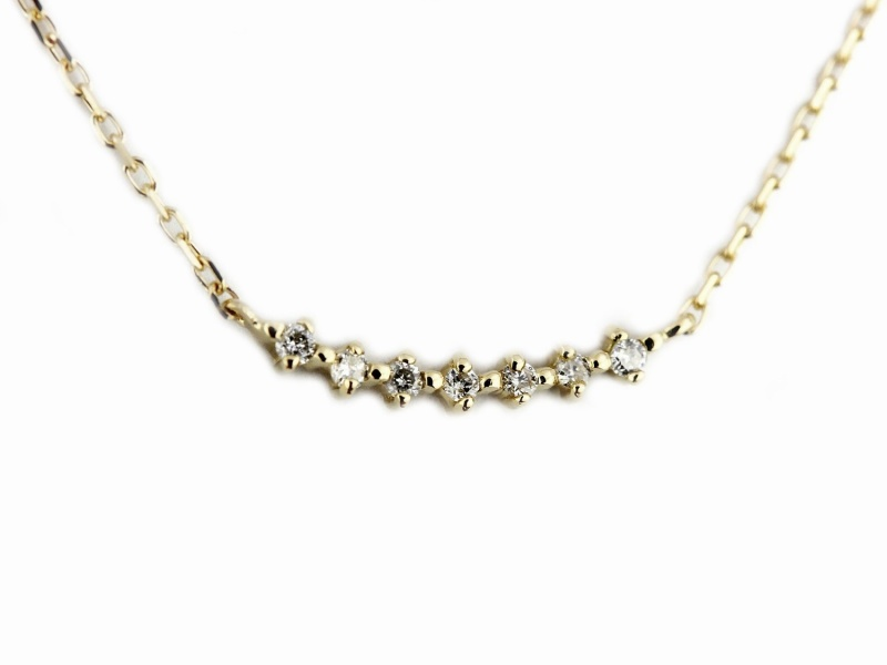 pinacoteca 565 Lucky Diamond Line Necklace