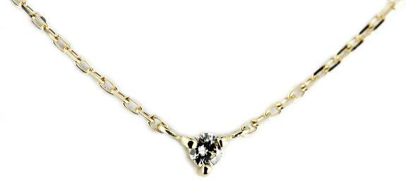 pin321 Tiny Diamond Necklace