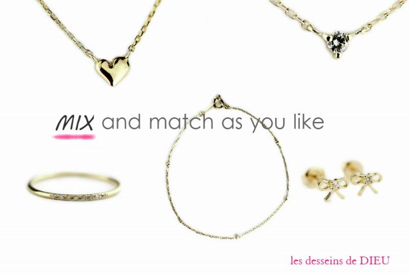 """ジュエリー慣れの心得 Part2   """"mix and match as you like"""""""