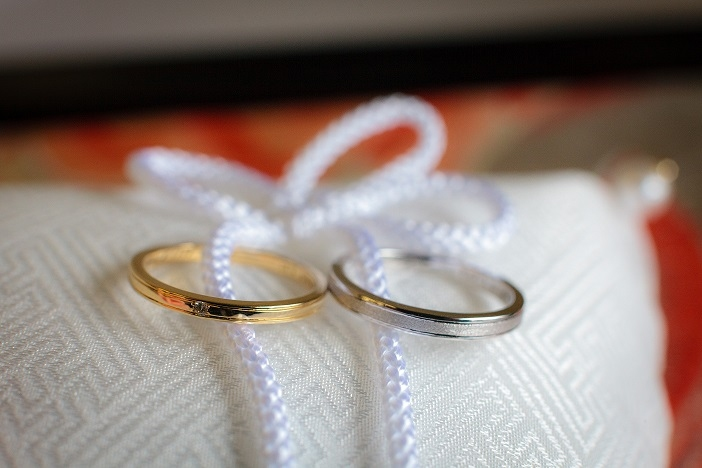"""tie the knot"" Wedding Bands -les desseins de DIEU-"