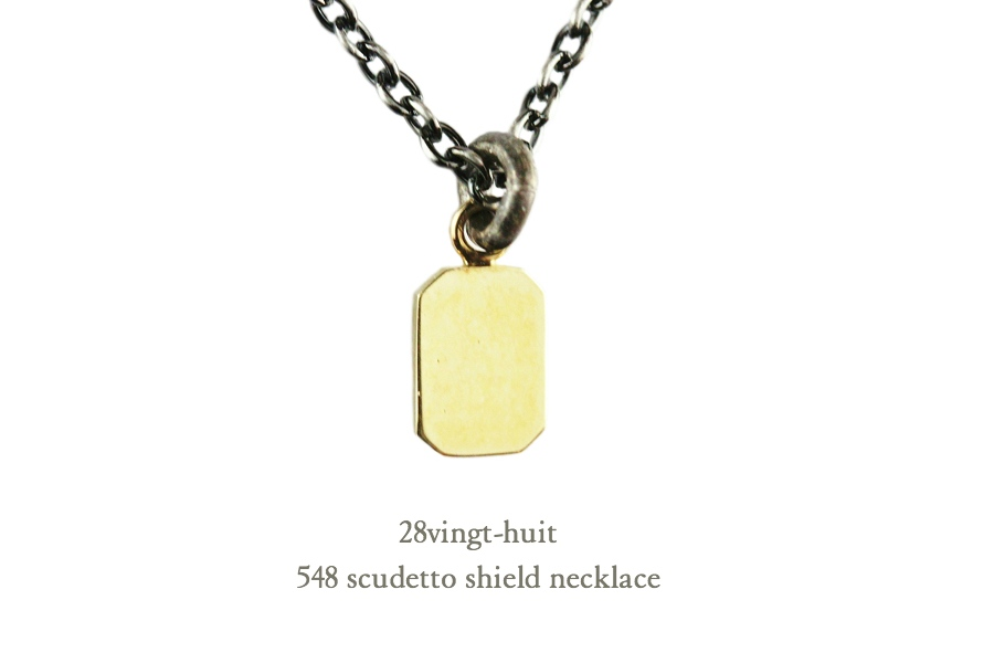 28vingt-huit 548 Scudetto Necklace