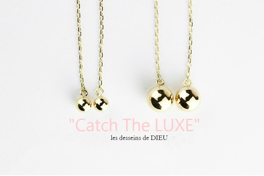 速報★★★Amazon1位のスタッドアメリカンピアス les desseins de DIEU 937 Gold Bits (S)
