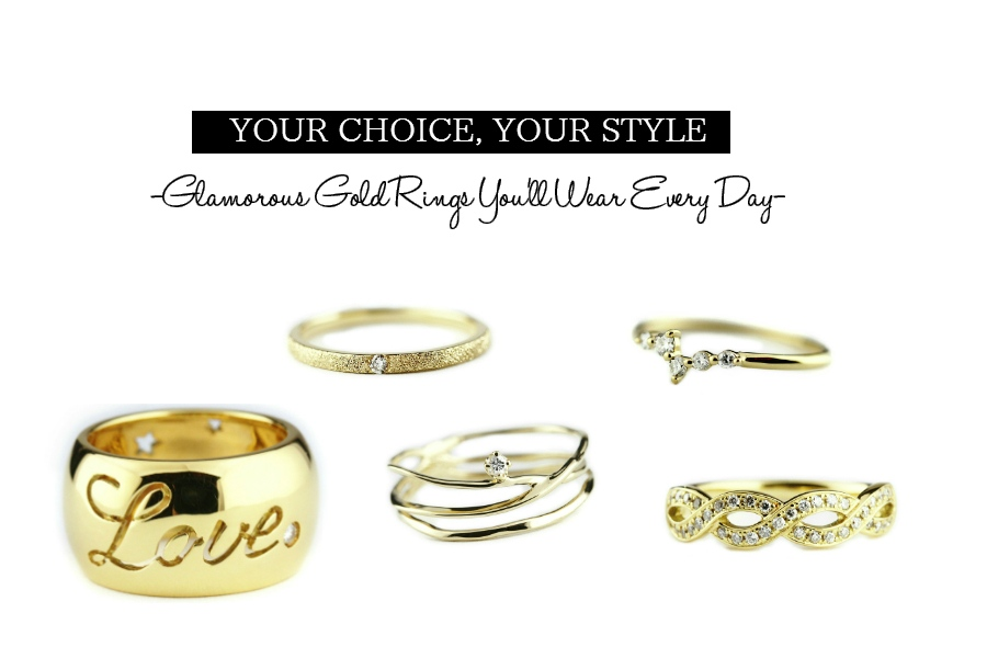 glamourous rings you'll like to wear everyday