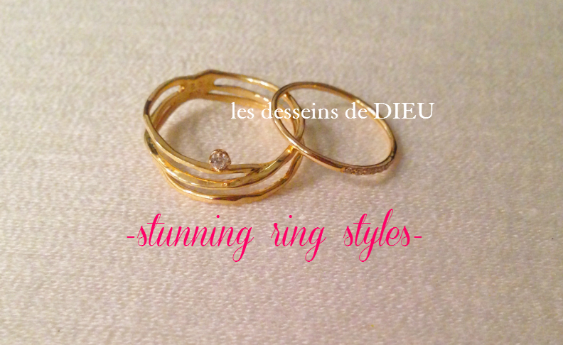 華奢スキンジュエリー コーデ例: リングのお薦めコーデ  Stunning Ring Styles (ld51&pina187)