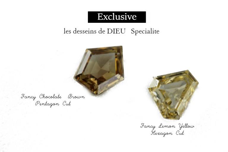 この世にたったひとつのMy Special Perfect One -les desseins de DIEU SPECIALITE- ファンシーカットとは?