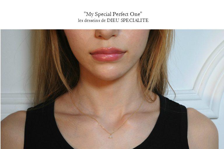 "les desseins de DIEU初の試みの数量&期間限定のジュエリー・コレクション ""My Perfect Special One""   3デザインのご紹介"
