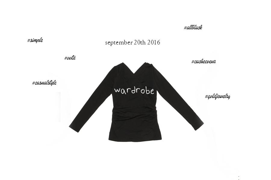 秋冬スタイルにプラスするスキンジュエリー カシュクール×クロスネックレスの重ねづけ