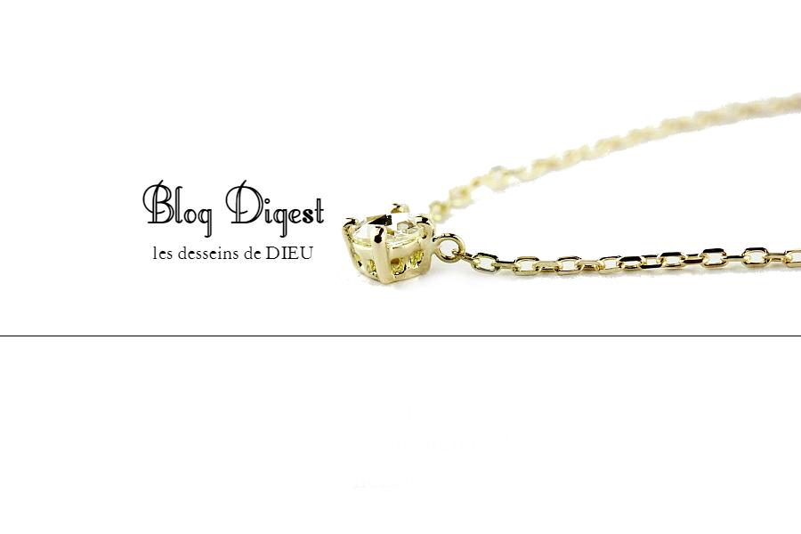 Blog Digest:  人気のブログ記事をまとめました。  【ジュエリーの選び方&見せ方編 TOP 5】