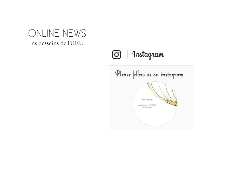 "★Online News: Bijouterie euro flat のinstagram オフィシャルアカウントを公開します。 インスタグラムの ""bijouterieeuroflat"" をフォローしてください♥"