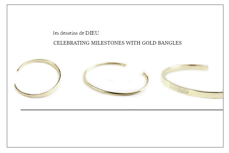 達成感を祝う お薦めギフト: 新作ゴールドバングル Celebrating Milestones with Gold Bangles