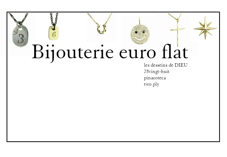 Bijouterie euro flatの楽天ROOMのオフィシャルアカウントをオープンしました