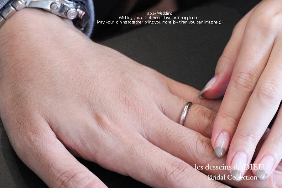 """いまも好きなデザインで、一生着けられる 失敗しない結婚指輪 -les desseins de DIEU  """"Otemoto""""-"""