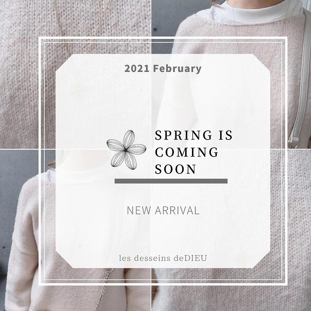 NEW ARRIVAL: 春スタイルを飾る les desseins de DIEU 大きめイニシャル・チャーム
